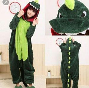 🐊 Alligator adult onesie pajamas Inv#6/7🐊